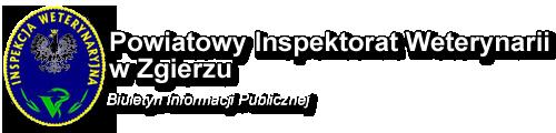 Logo Powiatowego Inspektoratu Weterynarii w Zgierzu