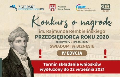 Przejdź do artykułu o konkursie o nagrodę im. R. Rembielińskiego