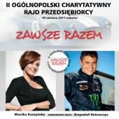 Plakat promujący rajd