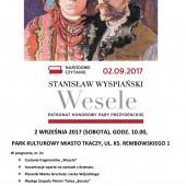 Plakat promujący wydarzenie w Zgierzu