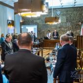 Uroczyste odczytanie oświadczenia podczas sesji Rady Miasta Zgierza w dn. 17.01.2019 r.
