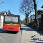 Autobus na nowym przystanku