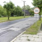 ul. Łąkowa - widok obecny