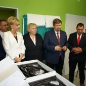 Uroczyste przekazanie sprzętu - fot. FB Szpitala Wojewódzkiego w Zgierzu