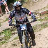 Artur Miśkiewicz na rowerze