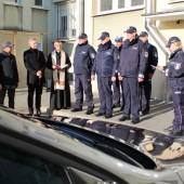 Nowy radiowóz - fot. KPP Zgierz