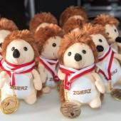 Jeżyki z medalami