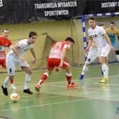 Mecz futsalu w hali MOSiR Zgierz