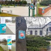 Zdjęcia miejsc oznaczonych zakazem wejścia