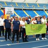 Reprezentacja ZU3W na Stadionie Śląskim w Chorzowie
