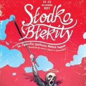 Plakat festiwalu - projekt Stanisław Łuczak