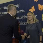 Prezydent Miasta Zgierza wręcza nagrody nauczycielom