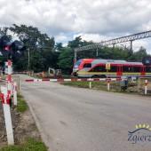 przejazd kolejowy - ul. Czarna