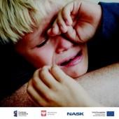Płaczące dziecko - grafika Ministerstwa Cyfryzacji
