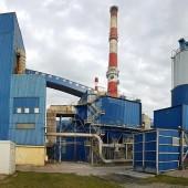 Budynek zgierskiej elektrociepłowni przy ul. Energetyków 9