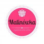 """Logo Zgierskiego Kina Letniego """"Malinówka"""""""