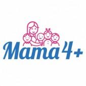 """Logo programu """"Mama 4+"""""""