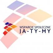 """Logo Stowarzyszenia Wsparcie Społeczne """"Ja - Ty - My"""""""