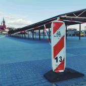 Zamknięte targowisko przy ul. Aleksandrowskiej w Zgierzu