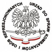 Logo Urzędu do Spraw Kombatantów i Osób Represjonowanych