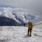 Marek Olczak na szczycie góry - fot.Marek.Olczak.Alpinist