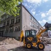 Prace termomodernizacyjne budynku Gimnazjum nr 2 w Zgierzu