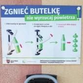 Zgniatarka pojemników plastikowych