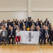 Uczestnicy Regionalnych Obchodów Dnia Olimpijczyka (24.09.2021 r.)