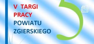 Plakat promujący targi pracy