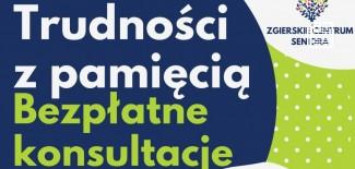 Plakat promujący konsultacje