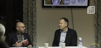od lewej: Jakub Niedziela, Cezary Łazarewicz