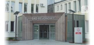 Budynek sądu przy ul. Sokołowskiej 6