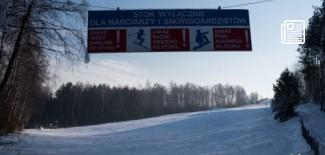 Stok narciarski na Malince