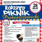 Plakat promujący piknik