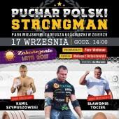Plakat Pucharu Polski Strongman 2017