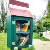 Skrzynka w Parku Miejskim im. T. Kościuszki