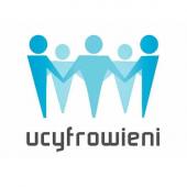 """Logo """"Ucyfrowieni"""""""