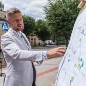 Prezydent Miasta Zgierza prezentuje mapę inwestycji