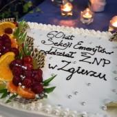 Tort okolicznościowy - fot. Starostwo Powiatowe w Zgierzu