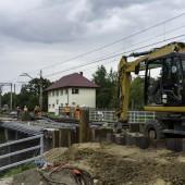 Przebudowa wiaduktu kolejowego na ul. Długiej w Zgierzu