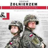 """Baner kampanii """"Zostań żołnierzem RP"""""""