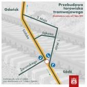 mapka objazdu