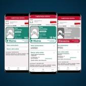 Legitymacja szkolna w telefonie komórkowym- grafika Ministerstwa Cyfryacji