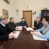 Narada w gabinecie Prezydenta Miasta Zgierza - 4.02.2019 r.