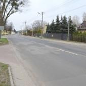 fragment ul. Piłsudskiego na odcinku od Placu Stu Straconych w kierunku ul. 1 Maja - foto Starostwo Powiatowe w Zgierzu