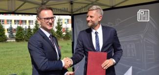Podpisanie listu intencyjnego w sprawie wsparcia prawnego i doradztwa dla rozwoju budownictwa mieszkaniowego w formule PPP w Zgierzu