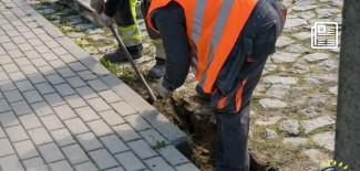 Roboty drogowe w ul. Solnej