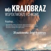 Plakat promujący Dzień Krajobrazu