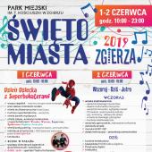 Plakat Święta Miasta Zgierza 2019
