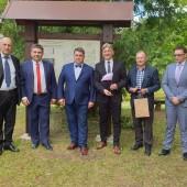 Delegacja ze Zgierza w Kupiszkach